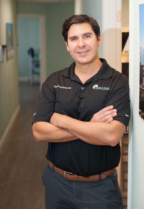 Dr. David Dominguez Sport Medicine Orthopaedic Surgeon