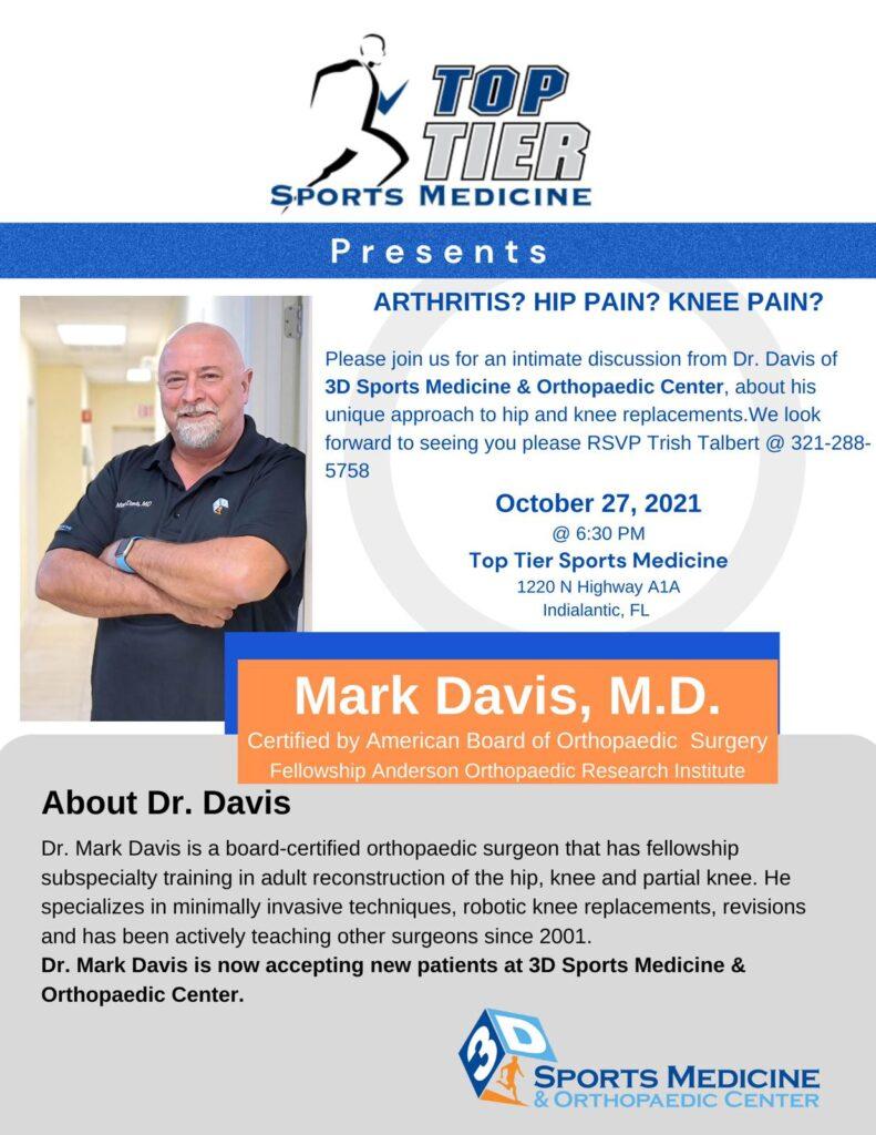 Dr. Mark Davis Events